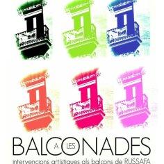 A les balconades. Russafa cultura viva 2014