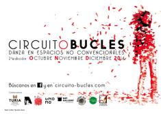 CIRCUITO BUCLES, está organizado por el coreógrafo Juan Pinillos,la bailarina Isabela Alfaro y por María José Hernández, bailarina y gestora cultura