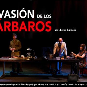 La invasión de los Bárbaros - Sala Russafa